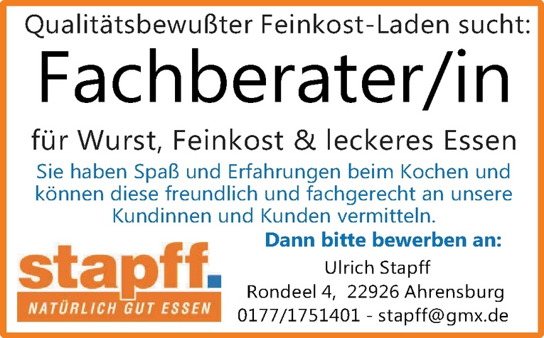 Fachberater/in