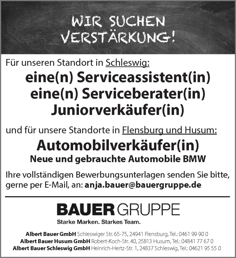 Automobilverkäufer(in)