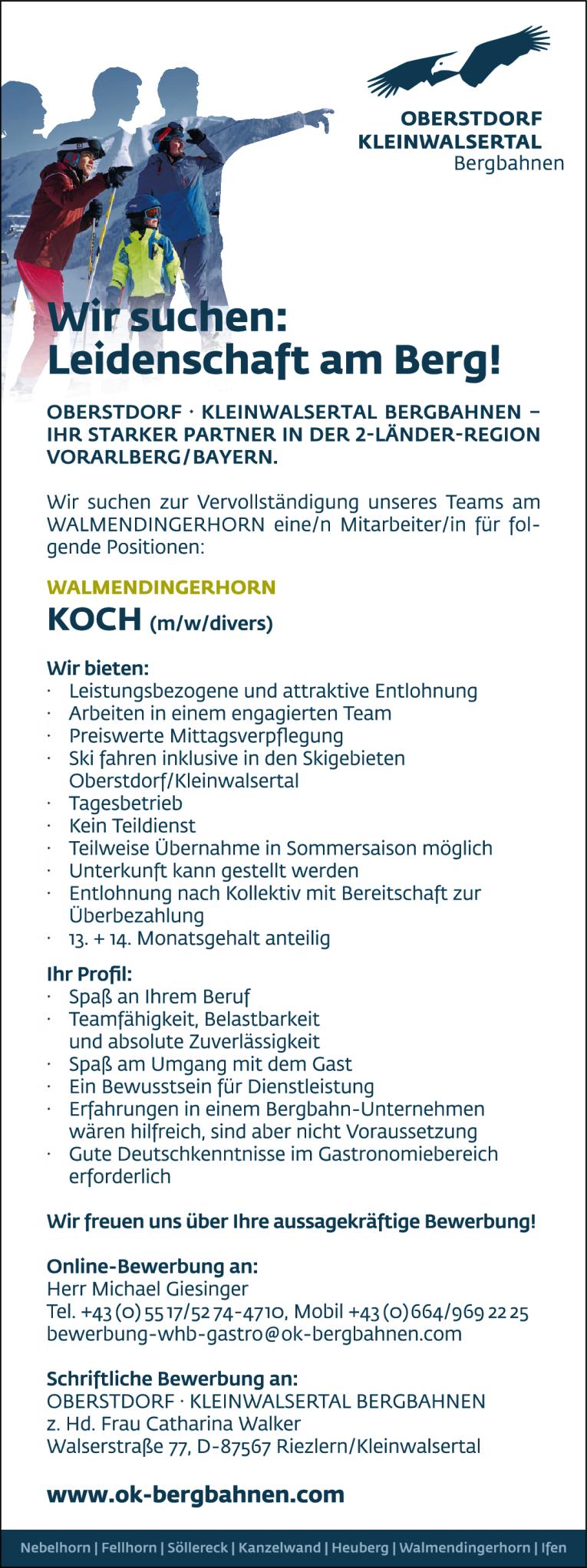 Job Koch Mwdivers Für Das Walmendingerhorn
