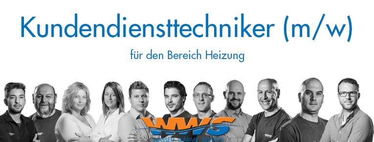 Kundendiensttechniker (m/w) für den Bereich Heizung