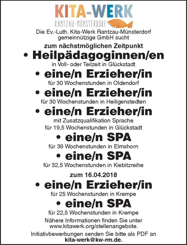 Erzieher (m/w)