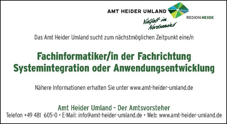 Fachinformatiker/in der Fachrichtung Systemintegration oder Anwendungsentwicklung