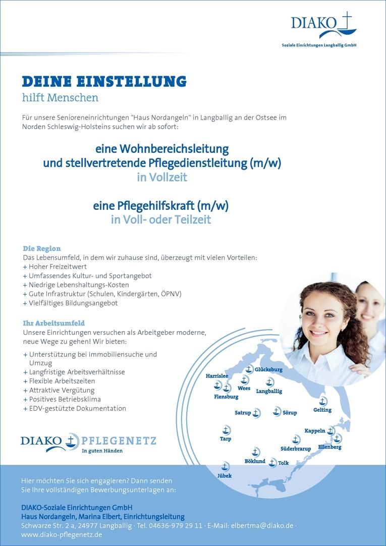 Stellvertretende Pflegedienstleitung (w/m)