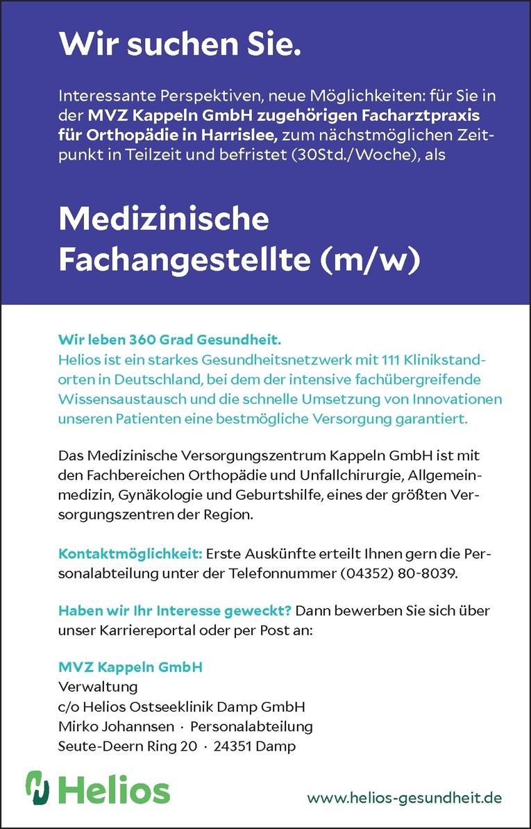 Medizinische Fachangestellte (m/w)