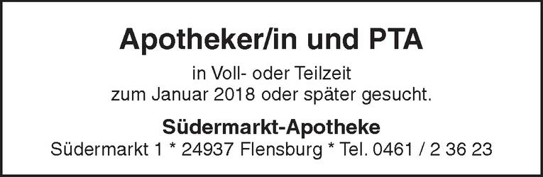 Apotheker/in