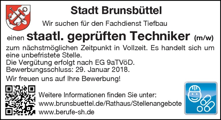 staatl. geprüfter Techniker (m/w)