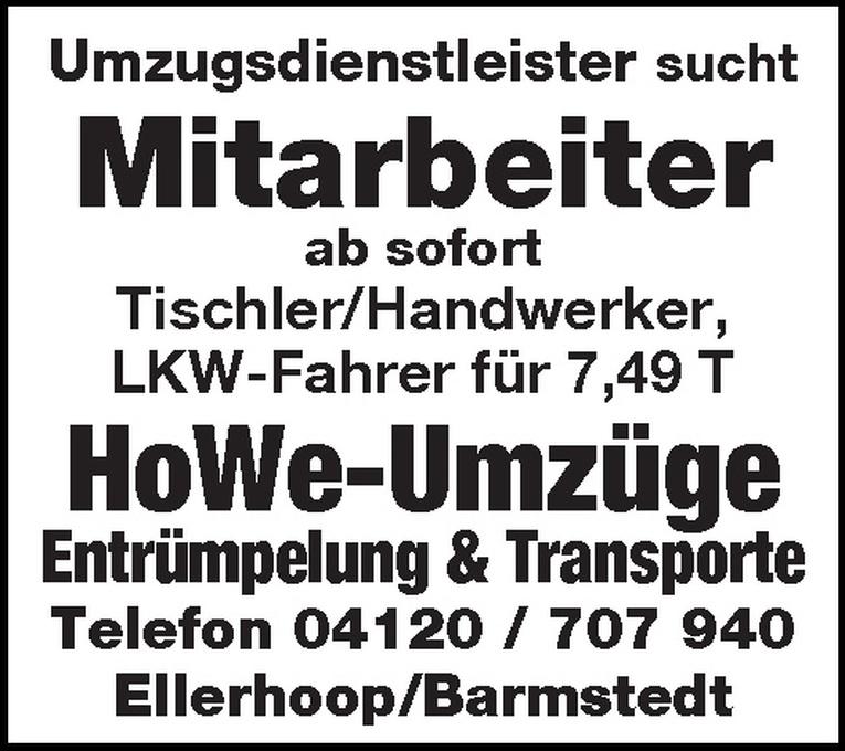 LKW-Fahrer für 7,49 T