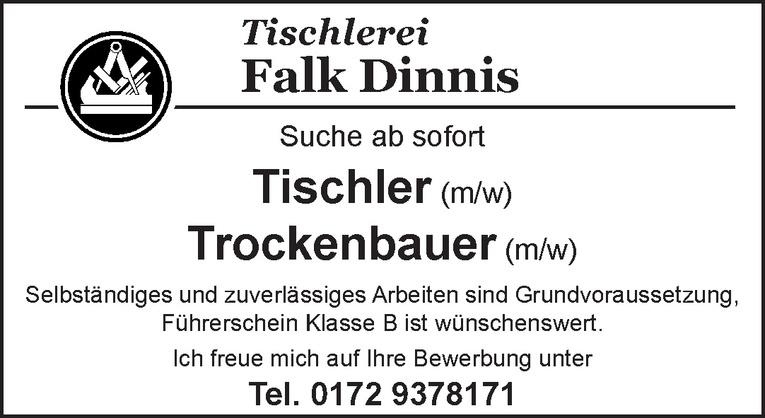 Tischler (m/w)