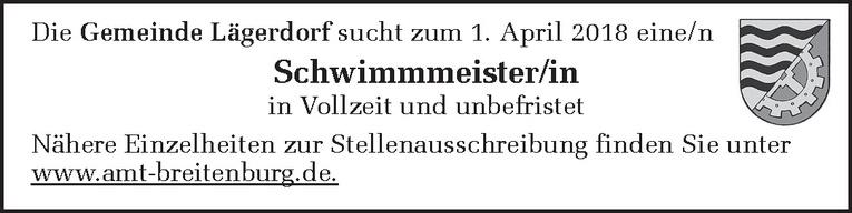 Schwimmmeister/in