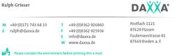 DAXXA Deutschland