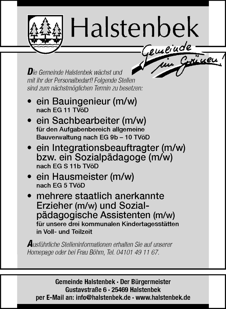 Sachbearbeiter (m/w)