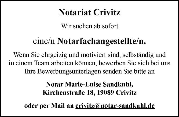 Notarfachangestellte/n
