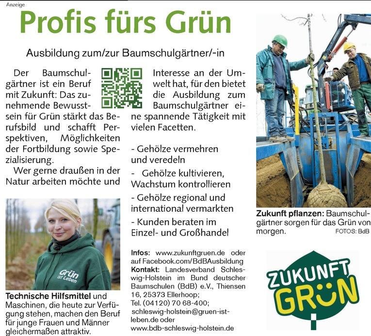 Ausbildung zum/zur Baumschulgärtner/-in