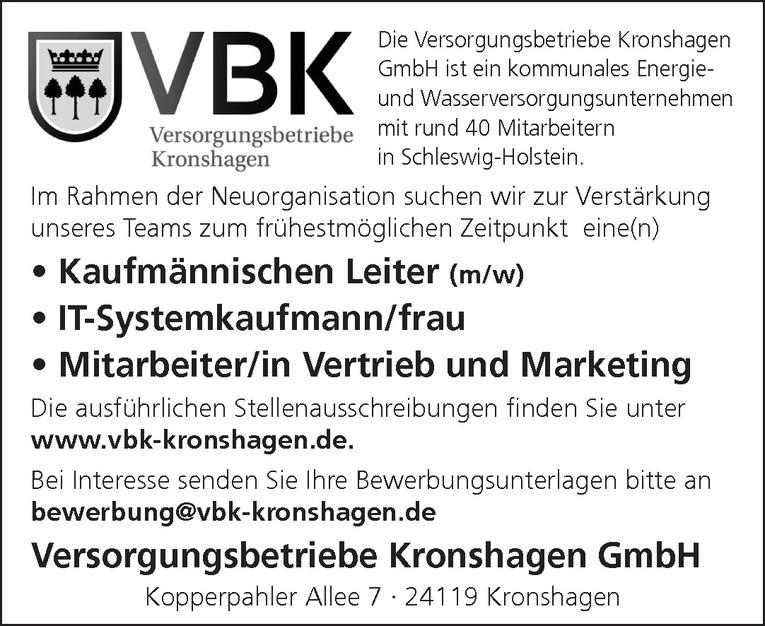 Mitarbeiter/in Vertrieb und Marketing