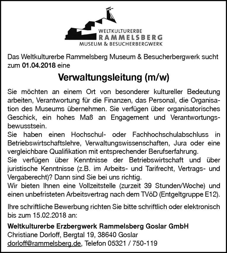 Verwaltungsleitung (m/w)