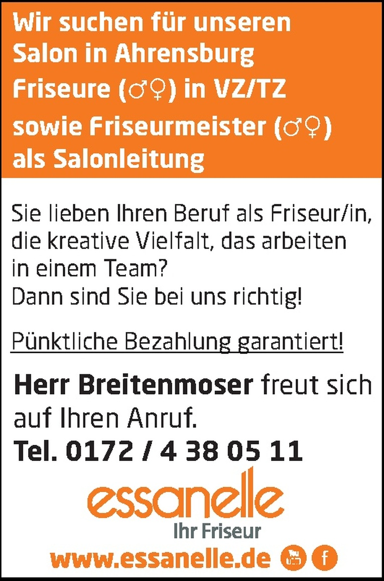 Friseurmeister (m/w)