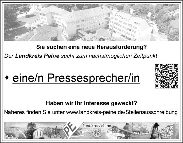 Pressesprecher (m/w)