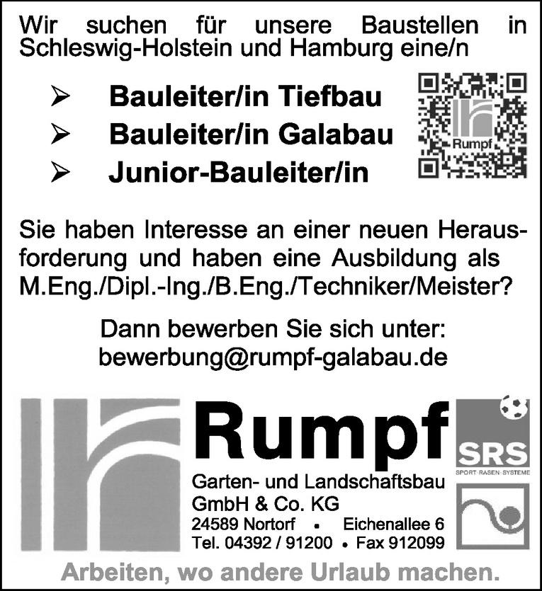 Bauleiter/in Tiefbau
