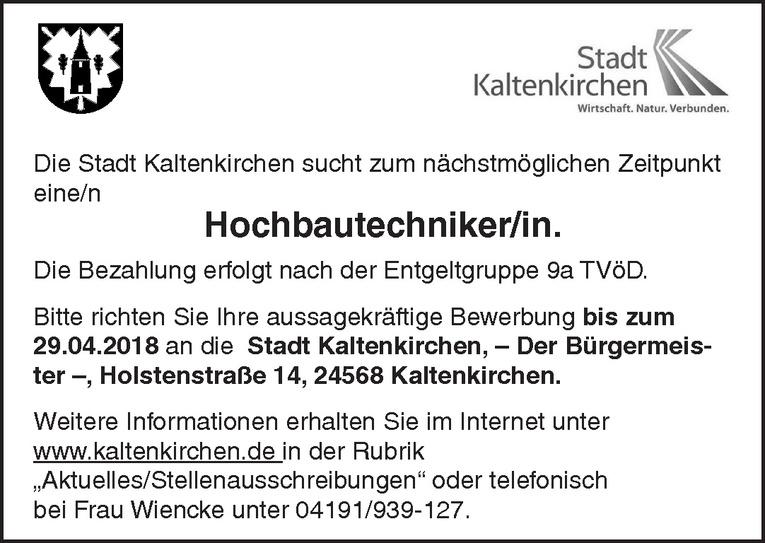 Hochbautechniker/in