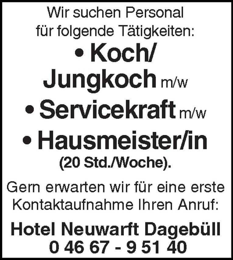 Koch/Jungkoch m/w