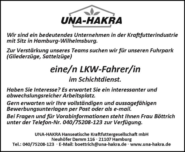 LKW-Fahrer/in