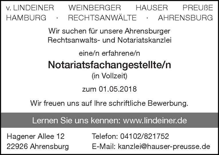 Notariatsfachangestellte/n