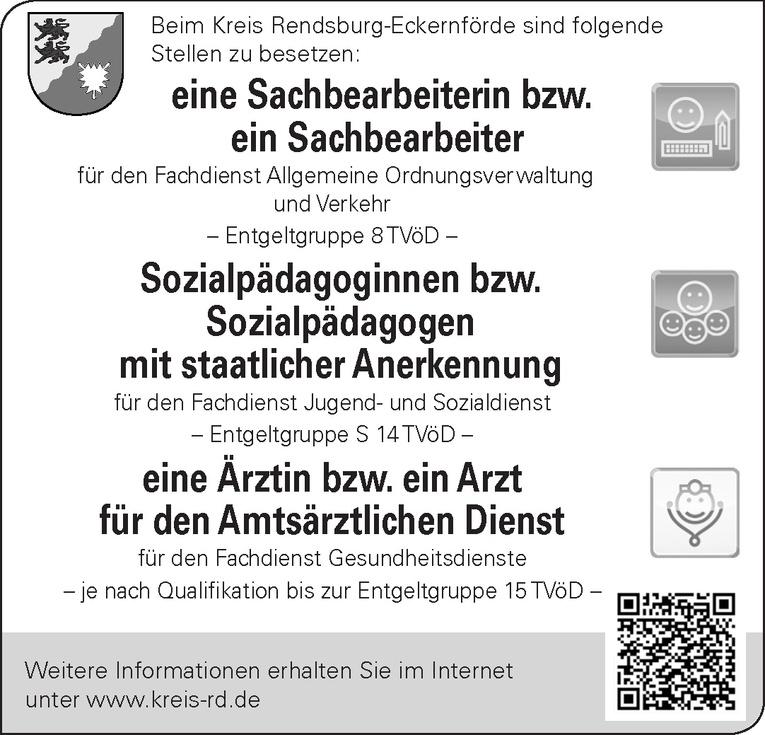 Sachbearbeiterin/Sachbearbeiter Fachdienst Allgemeine Ordnungsverwaltung und Verkehr