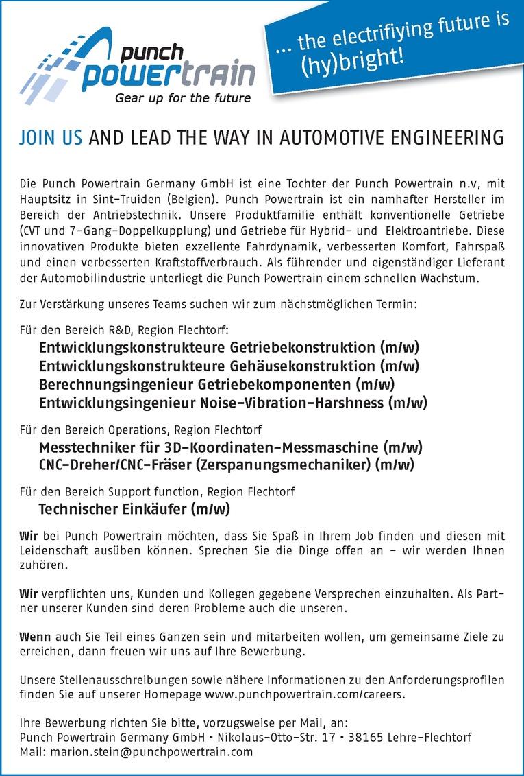 CNC-Dreher/CNC-Fräser (Zerspanungsmechaniker) (m/w)