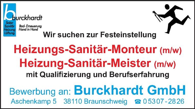 Heizungs-Sanitär-Monteur (m/w)