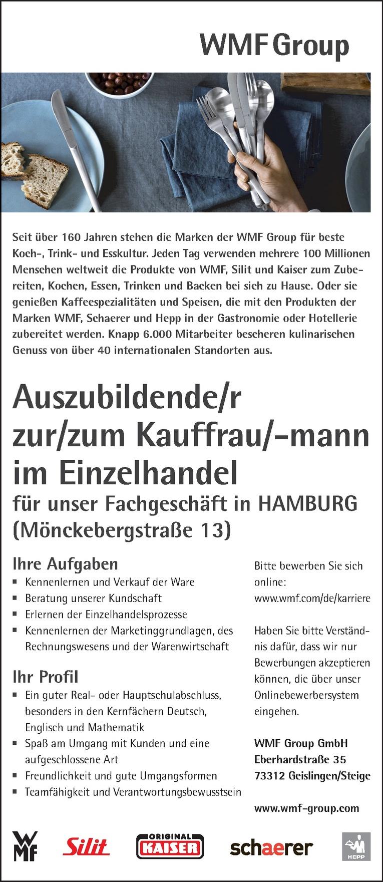 Ausbildung: Kauffrau/-mann im Einzelhandel