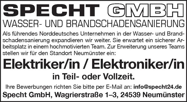 Elektriker/in / Elektroniker/in