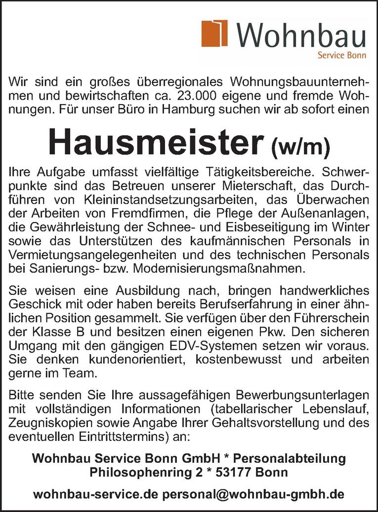 Fantastisch Hausmeister Job Lebenslauf Fähigkeiten Zeitgenössisch ...