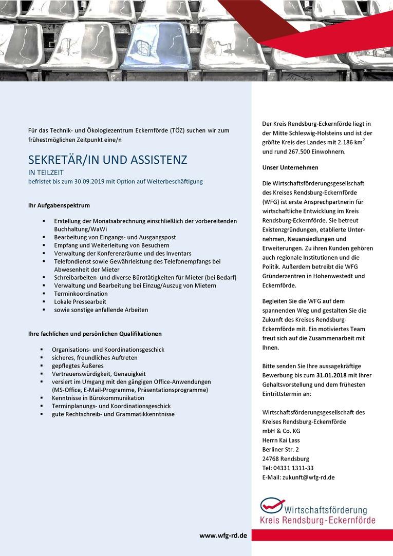 Sekretär/in und Assistenz