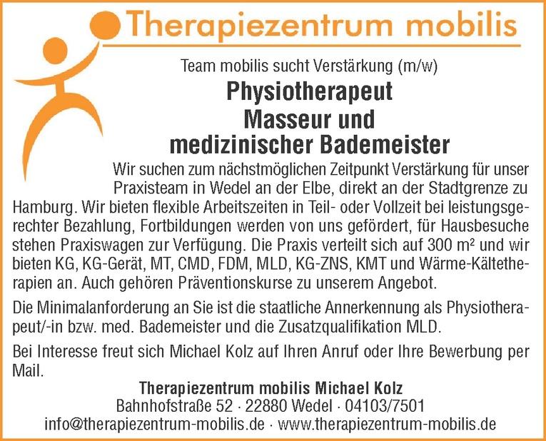 medizinischer Bademeister (m/w)