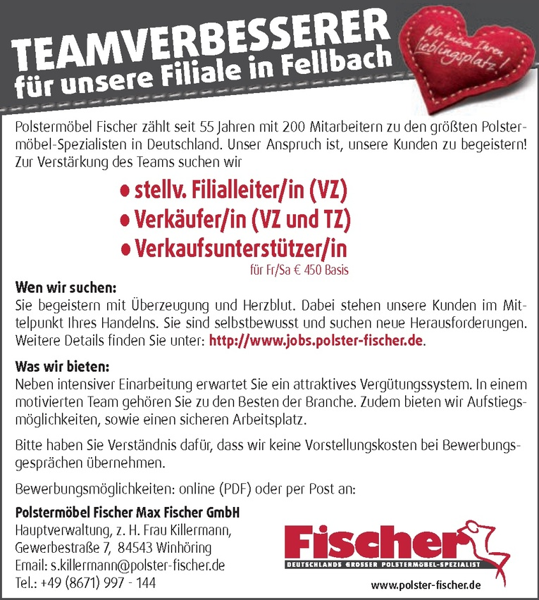 Ungewöhnlich Polstermobel Fischer Bilder - Innenarchitektur ...