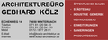 Architekturbüro Gebhard Kölz