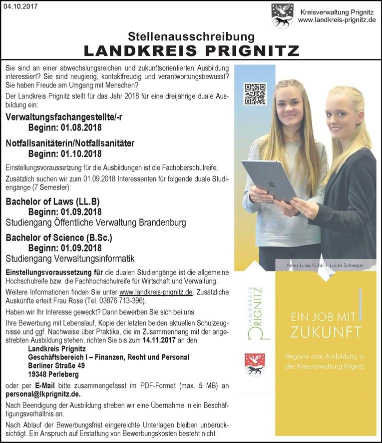 Duales Studium Bachelor of Science  (m/w) Verwaltungsinformatik