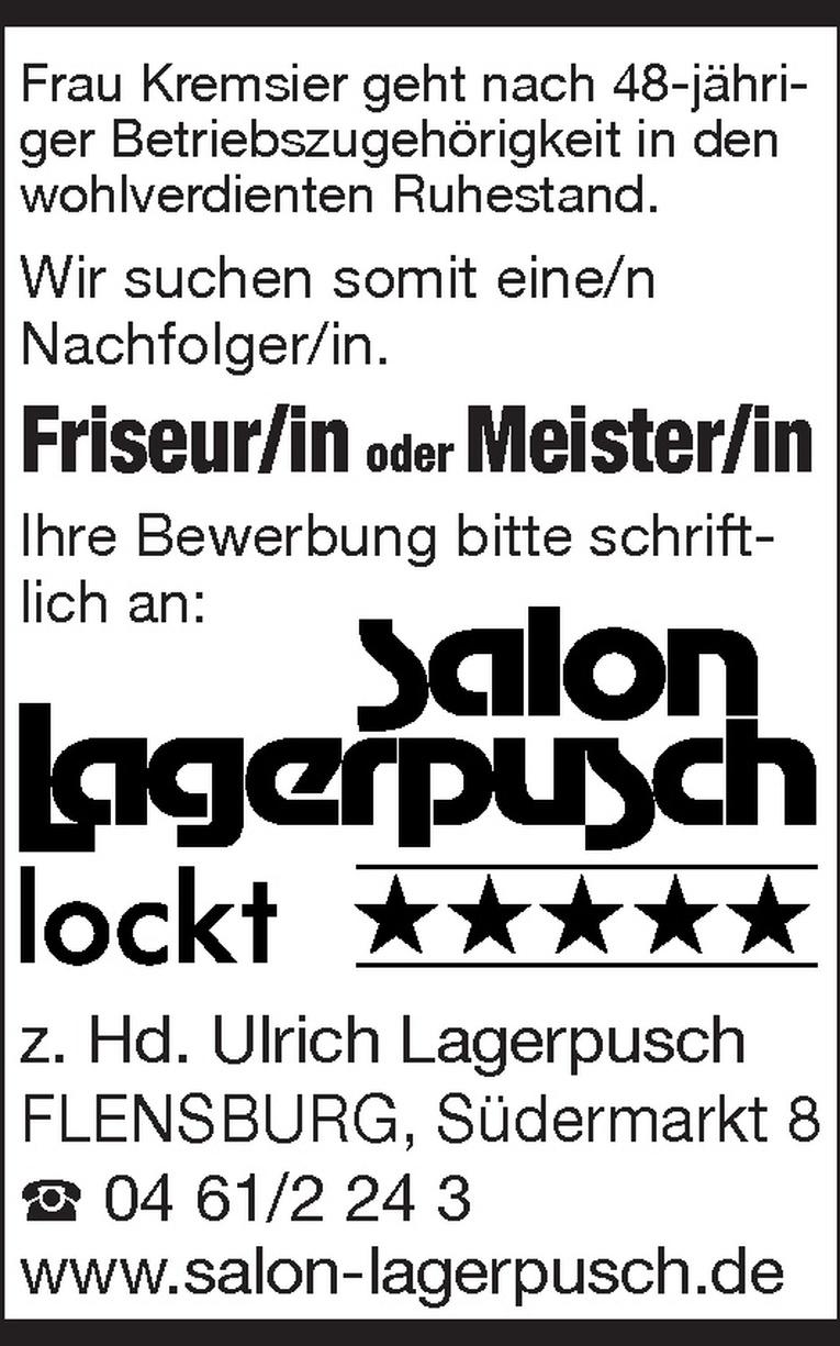 Friseur/in / Meister/in