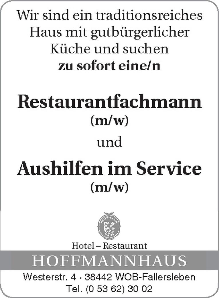 Restaurantfachmann (m/w)