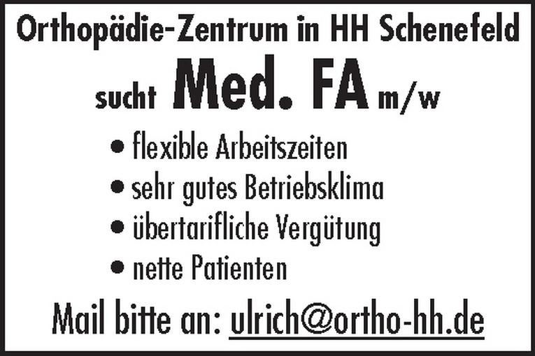 Med. FA m/w