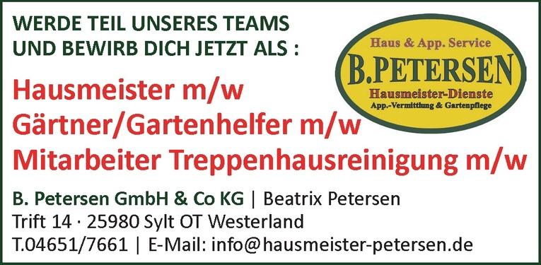 Gärtner/Gartenhelfer m/w