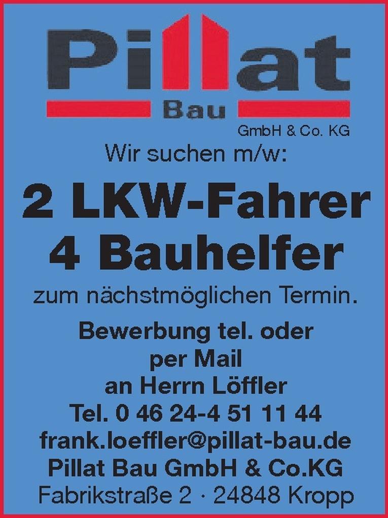LKW-Fahrer m/w