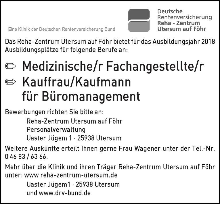 Ausbildung: Medizinische/r Fachangestellte/r