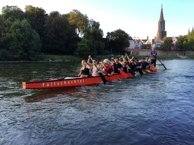 Drachenboot Training