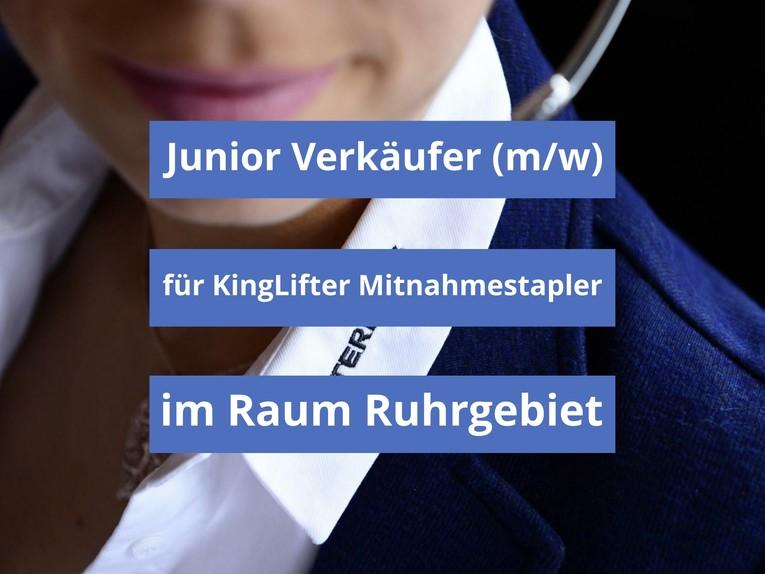Junior Verkäufer (m/w) für KingLifter Mitnahmestapler