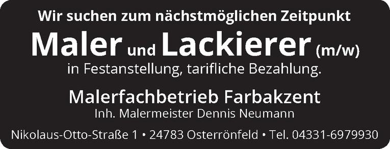 Maler und Lackierer (m/w)