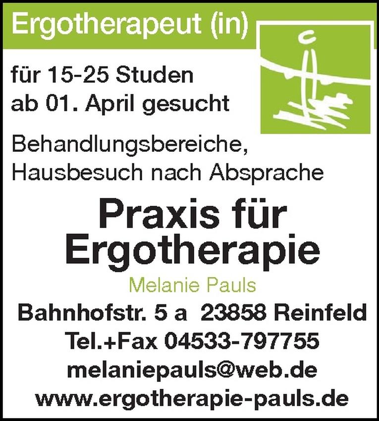 Ergotherapeut (in)