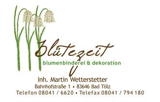 Blumenbinderei & Dekoration Martin Wetterstetter e. K.