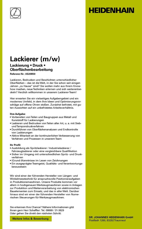Lackierer (m/w)