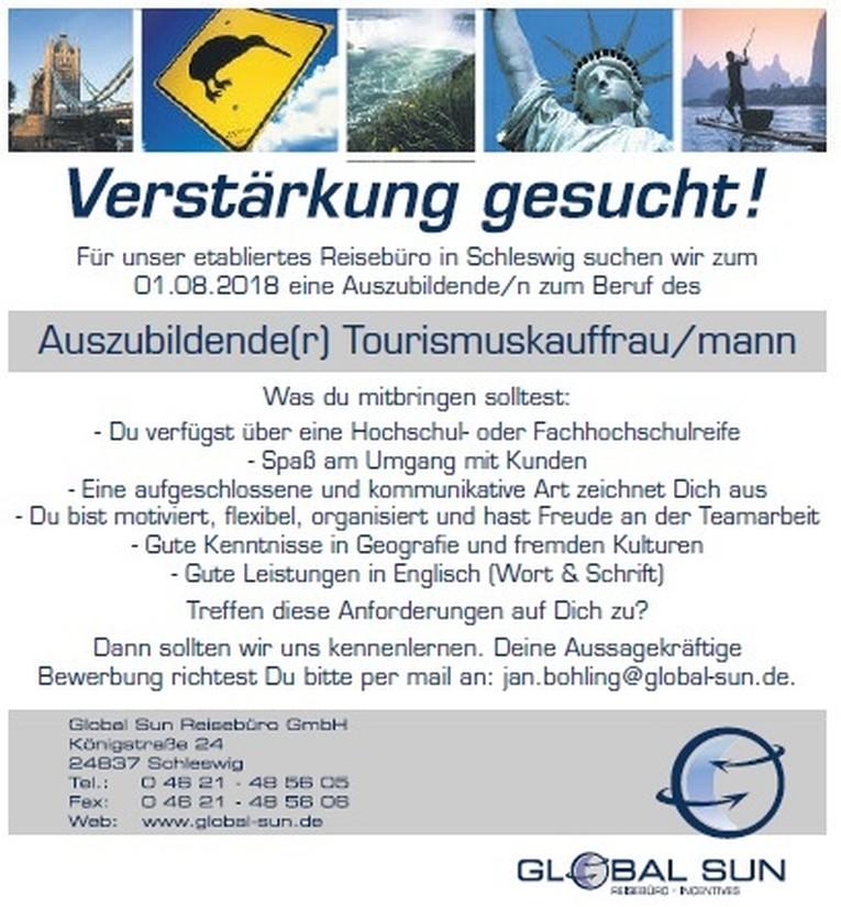 Ausbildung Tourismuskauffrau/-mann